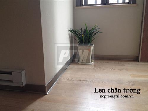 Len chân tường - Phụ kiện sàn gỗ