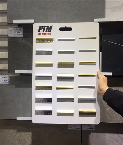 Nẹp trang trí PTM hỗ trợ bảng mẫu sản phẩm cho các đại lý